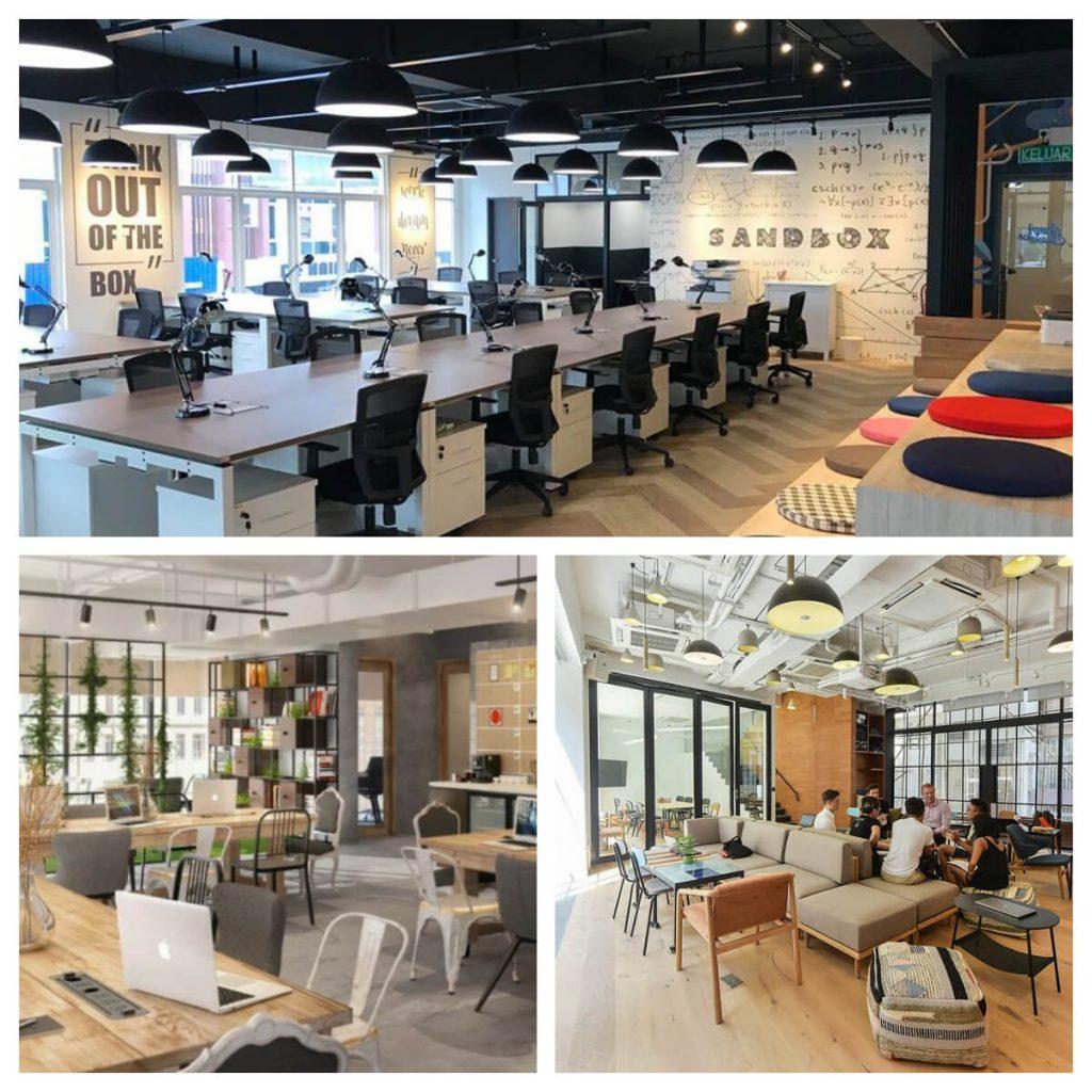 oficinas compartidas - Ejemplos de Coworking