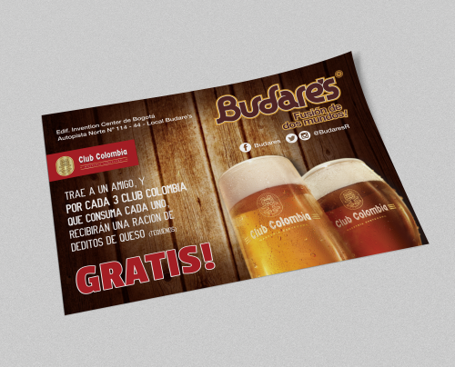 Flyers Volantes Budares Club Colombia